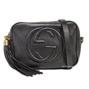 Gucci Black Disco Crossbody Bag